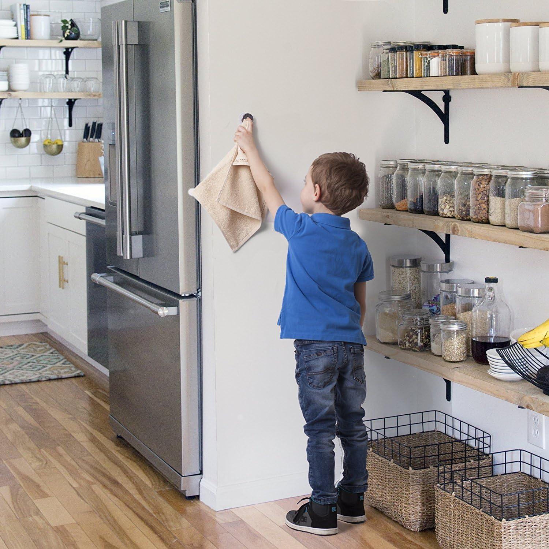 Küche und Haushalt aus Edelstahl Geschirrtuchhalter 4