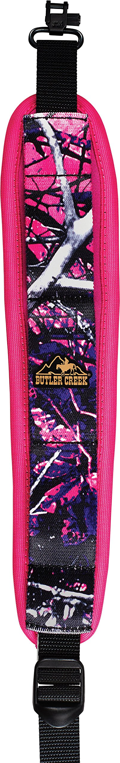 Butler Creek Comfort Stretch Rifle Sling with Swivels, Muddy Girl by Butler Creek