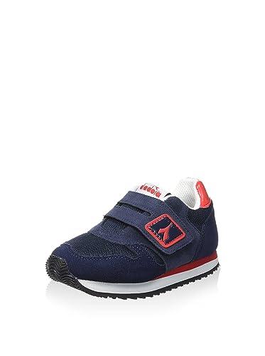 Diadora 160.922 K Run SJR Mezclilla Azul Zapatos Azules Tejido Niño Zapatillas de Deporte de la Piel 38 YyVqeY0cy