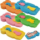 Baby Badeschwamm Sitzschwamm Badeunterlage Für Babys ab der Geburt Gr.MIDI