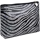 MKPCW Zebra pattern Makeup Bags Cosmetic Cases Travel Cases Portable Waterproof Make up Bag Makeup Organizers (COLOR 2)