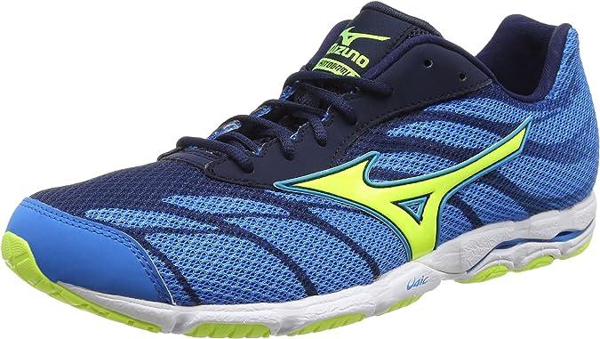 Mizuno Wave Hitogami 3 - Zapatillas de running Hombre, Azul, 46 ...