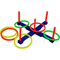 GSI Plastic Learn Targeting Ring Toss Game (Multicolour)