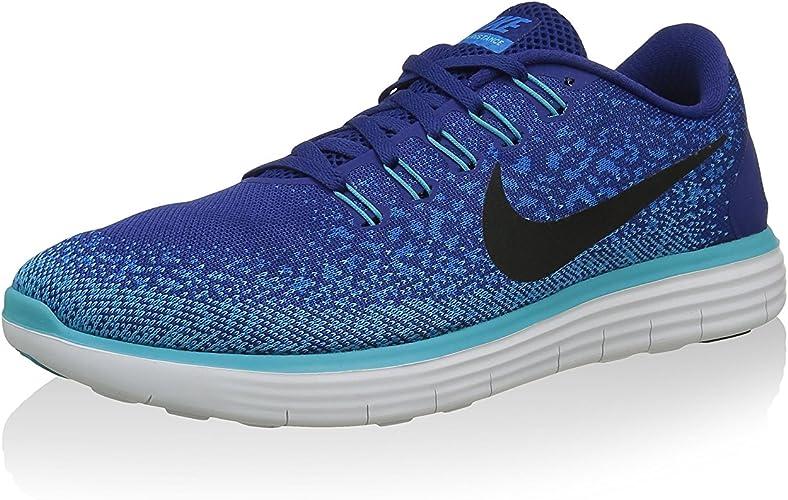 Nike Free RN Distance, Zapatillas de Running para Hombre, Azul, 38.5 EU: Amazon.es: Zapatos y complementos