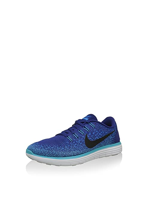 Nike Mens Free Run RN Distance Running Shoes Blue Cyan
