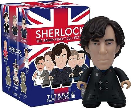 "Titans Sherlock Baker Street Collection JOHN WATSON W// COAT 3/"" Vinyl Figure"