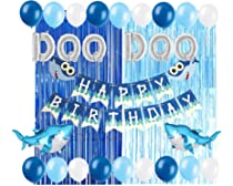 Amazon.com: Baby Shark Party Supplies Decoraciones DOO DOO ...