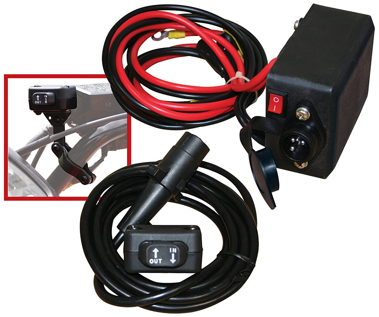 Amazon.com: Champion Mini-Rocker Switch Winch Remote Control Kit for  5000-lb. or Less ATV/UTV Winches: Automotive
