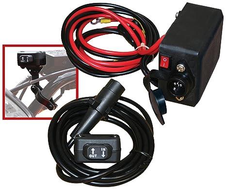 amazon com champion mini rocker switch winch remote control kit for rh amazon com Chevy 2500 Winch Bumper 2500 ATV Winch
