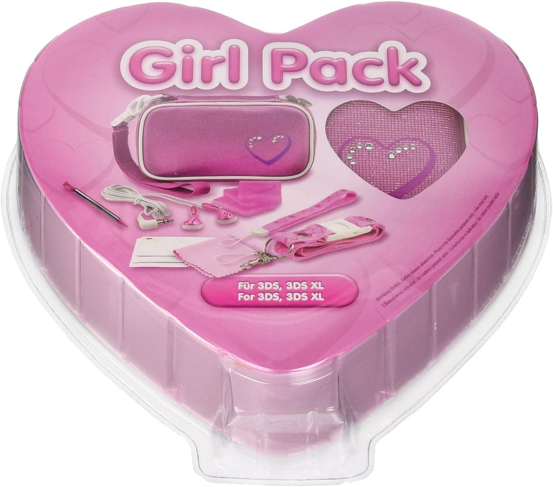 3DS XL Girl Pack - Zubehörsammlung für Nintendo 3DS XL ...