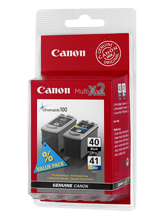 Canon 0615B043 - PG-40 / CL-41 MULTI PACK: Canon: Amazon.es ...