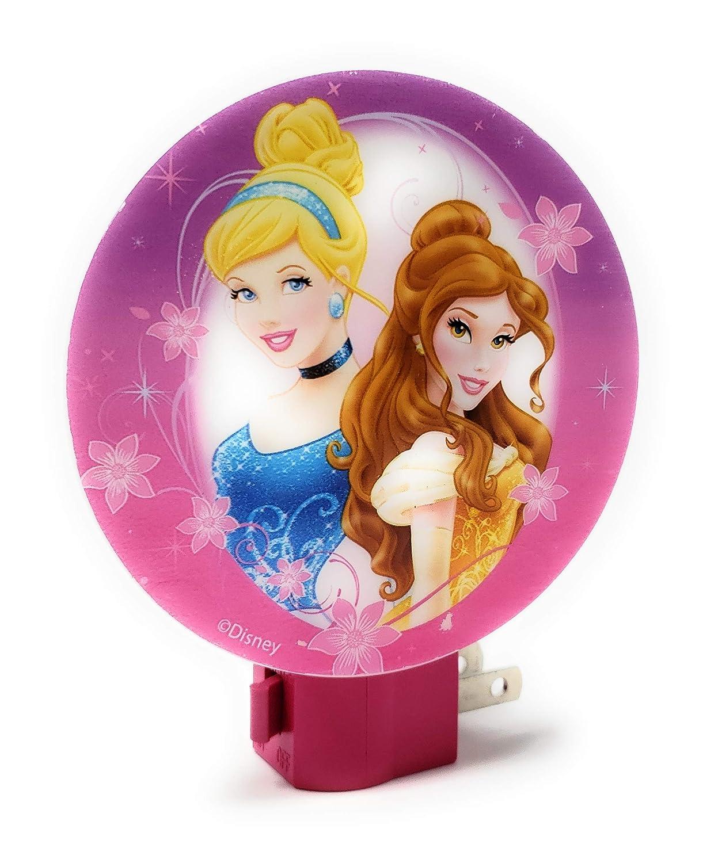 Disney Princesses LED Night Light and Flashlight Bundle