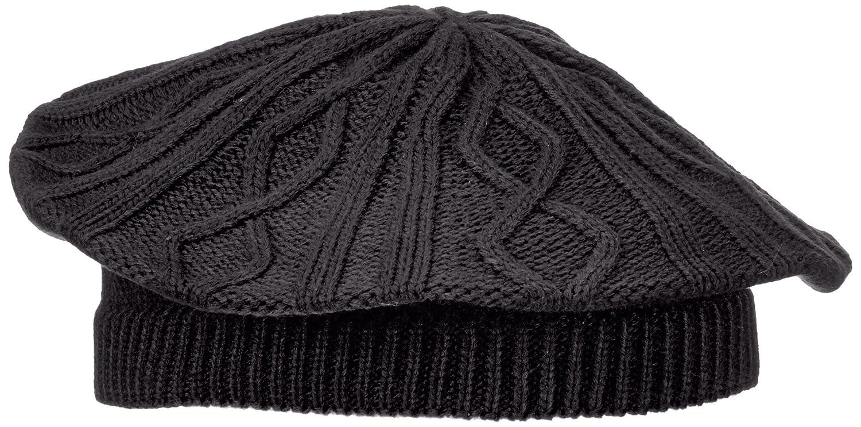 Fraenklis – Berretto da donna fatto a maglia, Nero (nero), Taglia unica