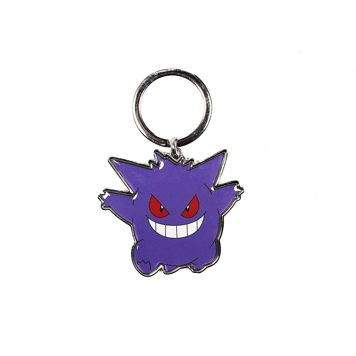 Pokemon Keychain – Gengar Metal Key Ring