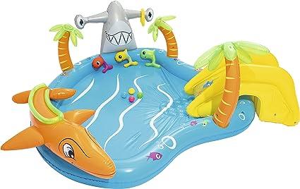 Amazon.com: Bestway vida marina centro de juegos hinchable ...