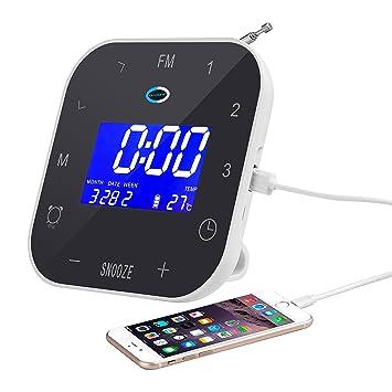 Amazon.com: coisound Radio Despertador & Phone Charger ...
