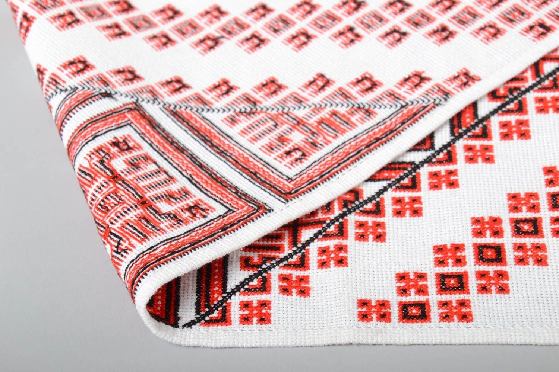 Compra Toalla bordada en punto de cruz artesanal diseno de interior elemento decorativo en Amazon.es