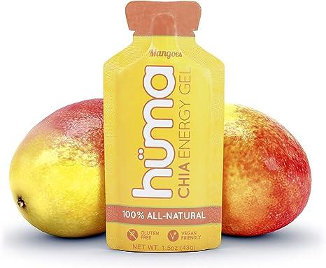 Huma Chia Energy Gels Mangoes Box Of 24 X 45g Amazon Co Uk Health Personal Care
