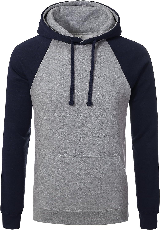 Mens Premium Heavyweight Pullover Hoodie Sweatshirts