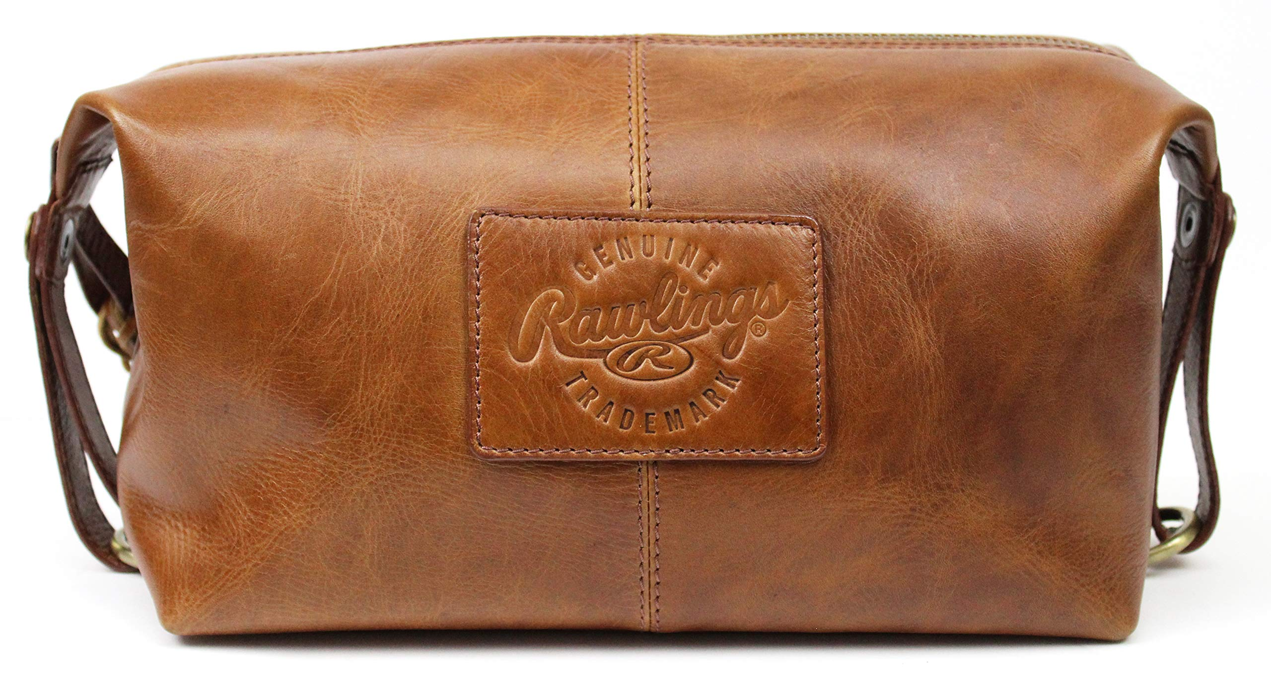 Rawlings Heritage Collection Leather Travel Kit - Tan
