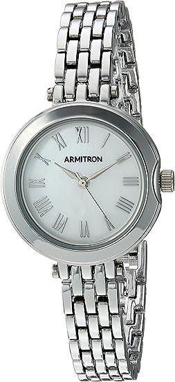 Armitron Women's 75/5462MPSV Silver-Tone Bracelet Watch