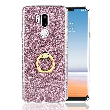 LG G7 TPU Shining Anillo Funda Carcasa Case Cover Caso para ...