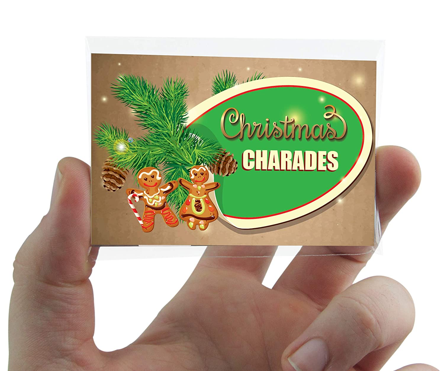 Christmas Charades Pocket Game with FREE UK DELIVERY Hannah's Games .