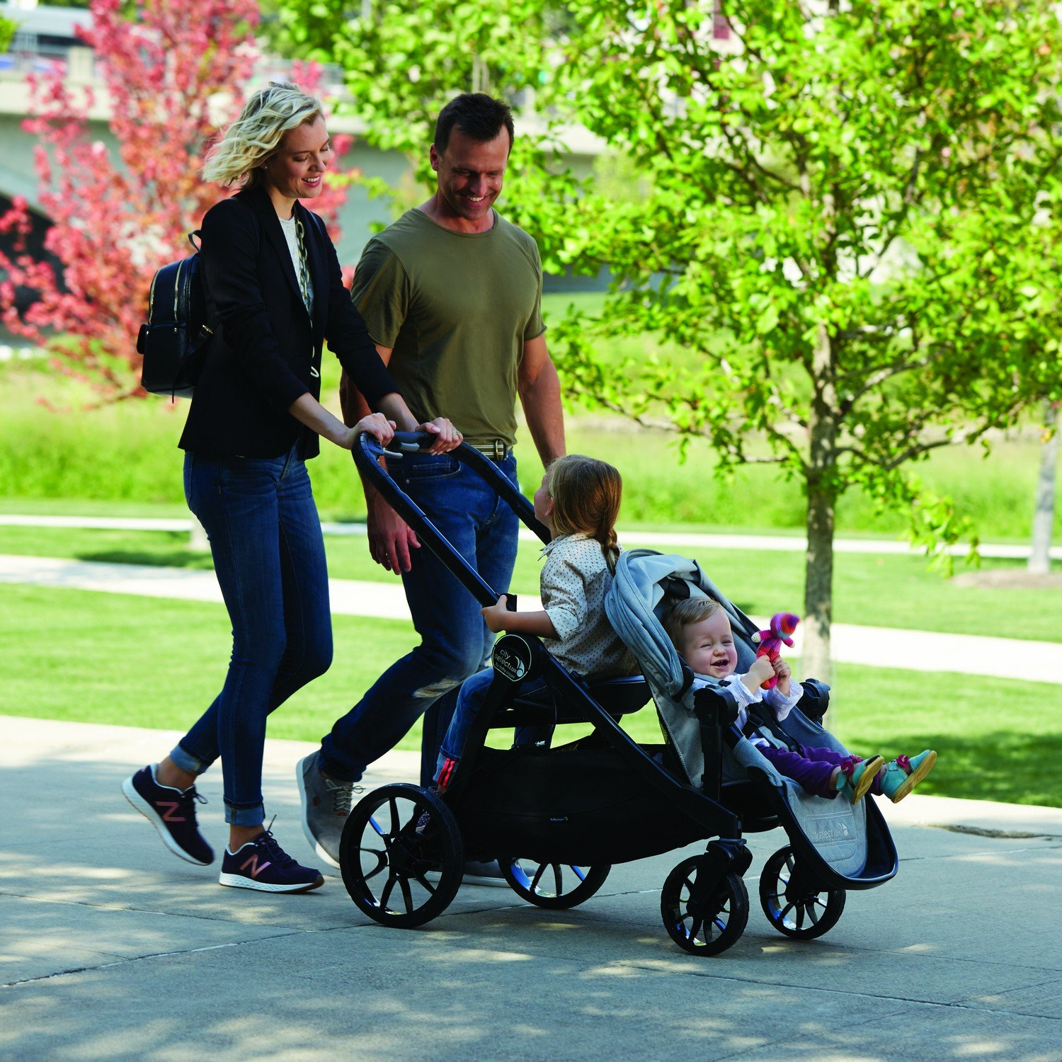 Baby Jogger City Select Lux Bench Seat Black Ebay