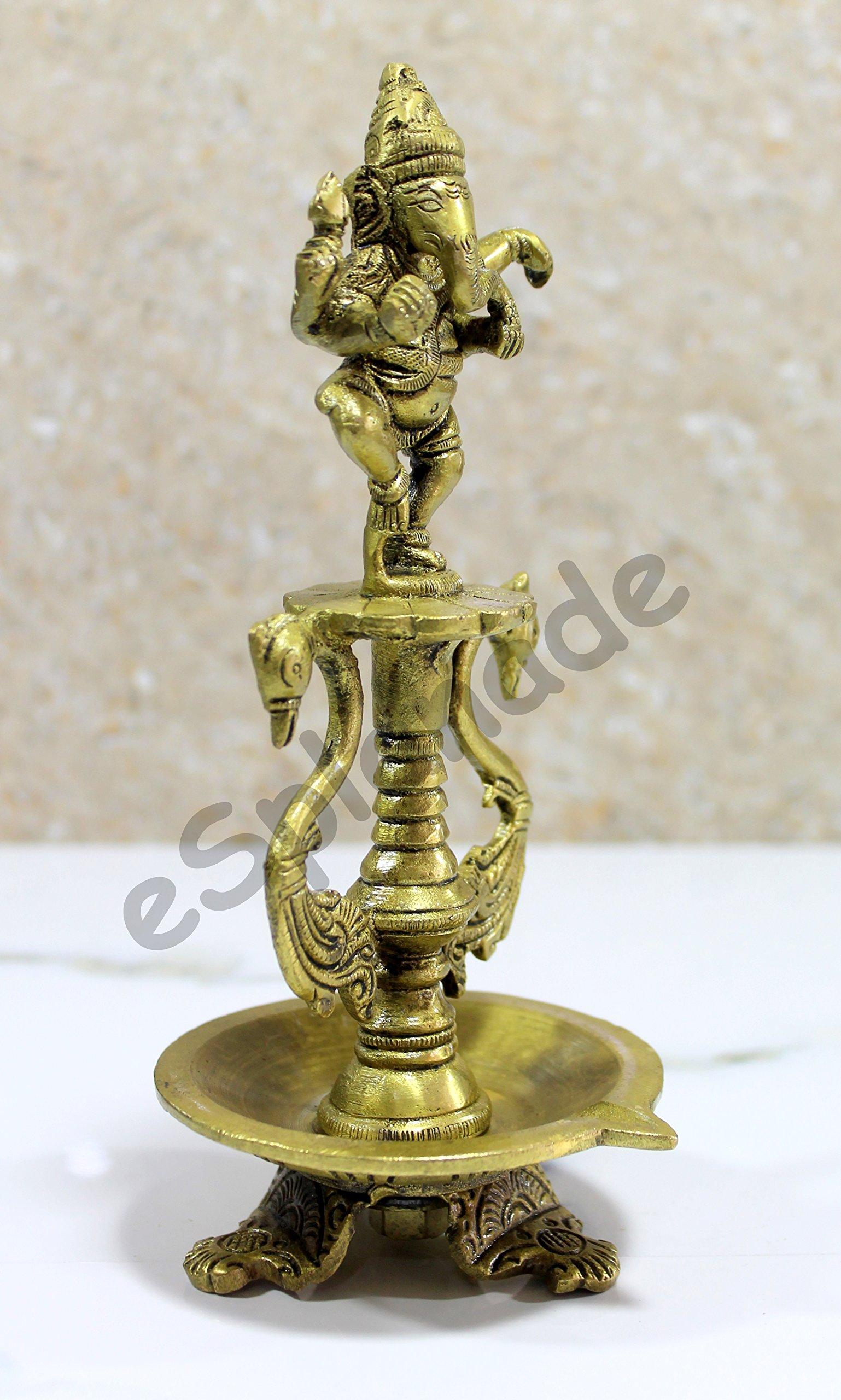 6 Pulgadas de tama/ño Grande Idols y estatuas de Dios Indio KLEO Esplanade Narmada Piedra Narmadeshwar Shiv Ling Shiva Lingam
