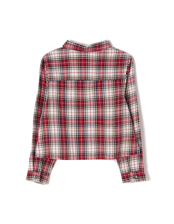 Camicia Sportiva Bambina Zippy Shirt Yarn Dye Checks
