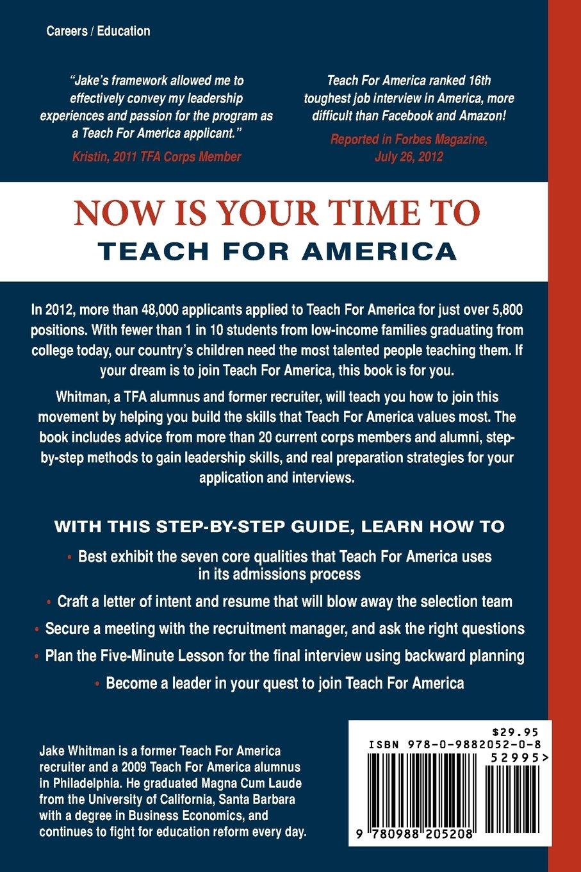 Destination: Teach For America: Building Leadership