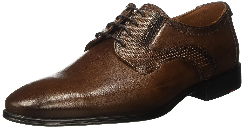 Lloyd Kobolt Extra-Weit, Zapatos de Cordones Derby para Hombre 42.5 EU|Marrón (T.d.moro/Blue 7)