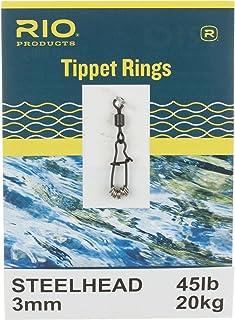 Rio Tippet Anneaux Truite et Saumon 12/20kg Lot de 10Leaders pour Ligne de pêche à la Mouche