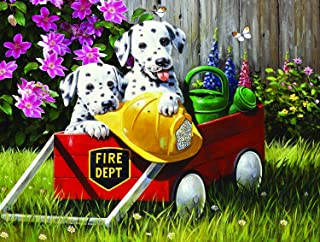 product image for Fire Waggin' 500 pc Jigsaw Puzzle by SUNSOUT INC