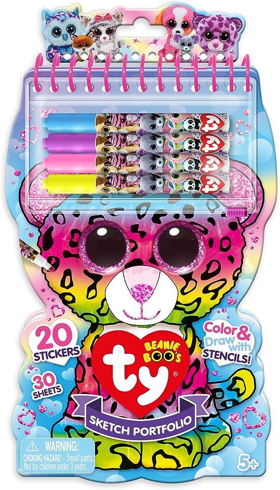 Amazon.com: Ty Beanie Boos Mini Sketch Mini Sketch: Toys & Games
