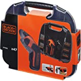 Black & Decker A7145 Screwdriver & Accessories Set 44 Pieces