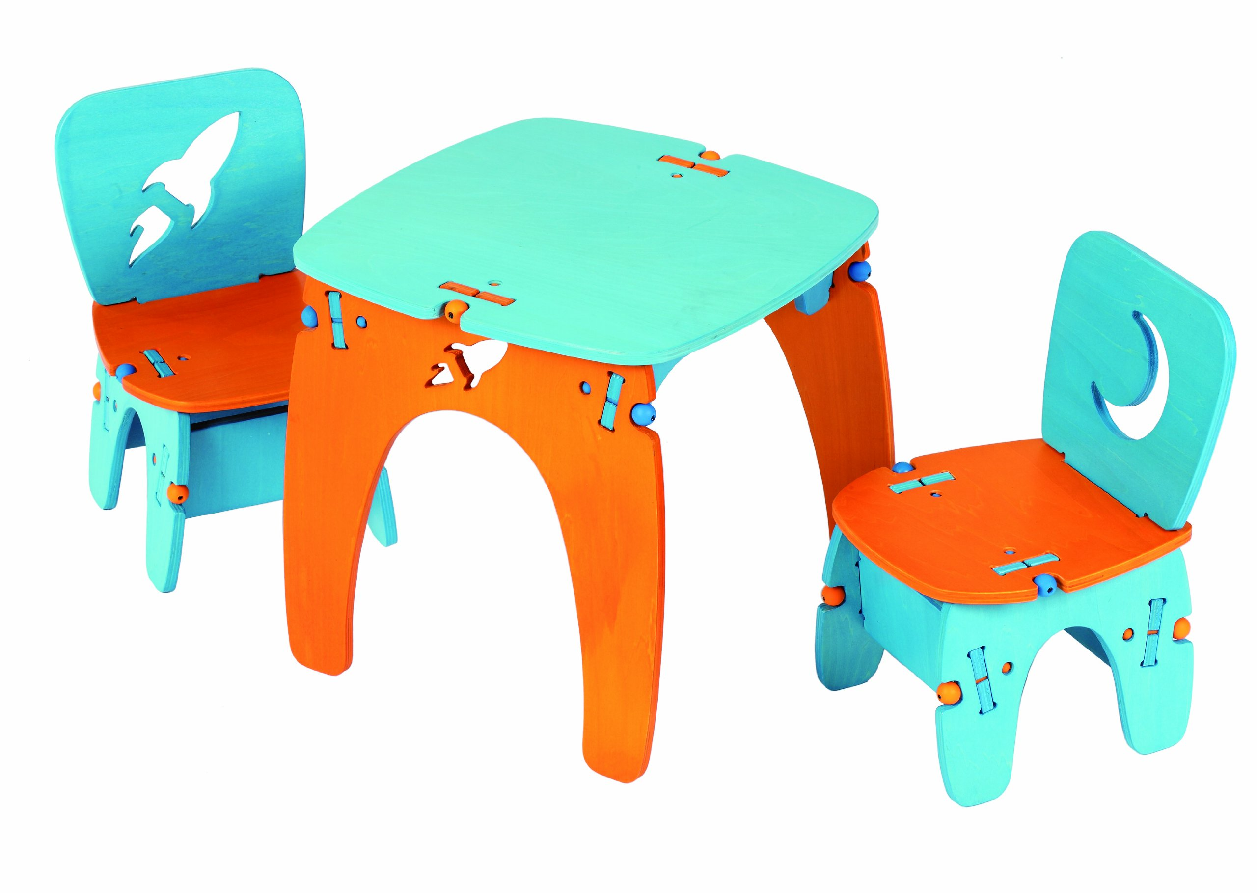 Buildex Rocketeer Table and Chairs Set