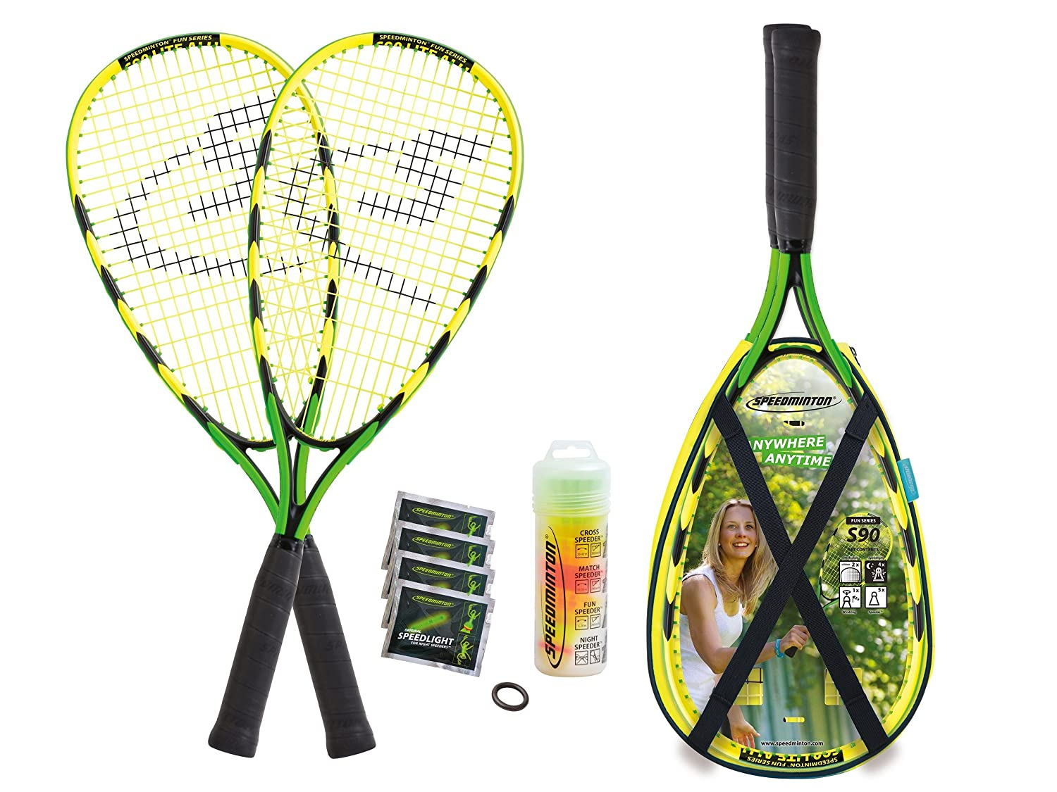 Speedminton Set S90 im X-Back Pack 400078
