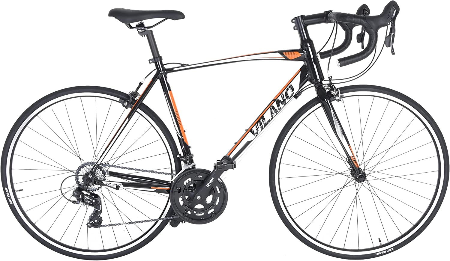 Vilano Shadow 3.0 Road Bikes with Integrated Shifters