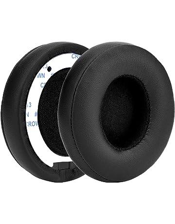 Almohadilla de Auriculares de Reemplazo Cojines de Oído Almohadilla para Beats Solo 2 Auriculares Inalámbricos y