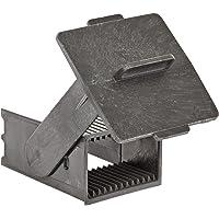 "Simport EasyDip M905-12DGY Acetal Vertical Slide Staining Rack, Gray, 2-1/2"" L x 2-1/4"" W x 3-3/4"" H (Case of 6)"