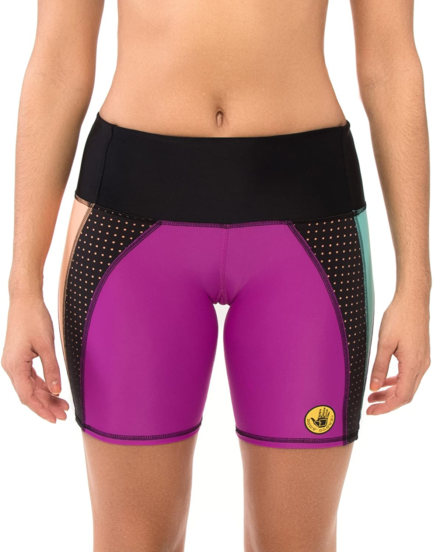 Body Glove Womens Bounce Cross-Over Hype Shorts