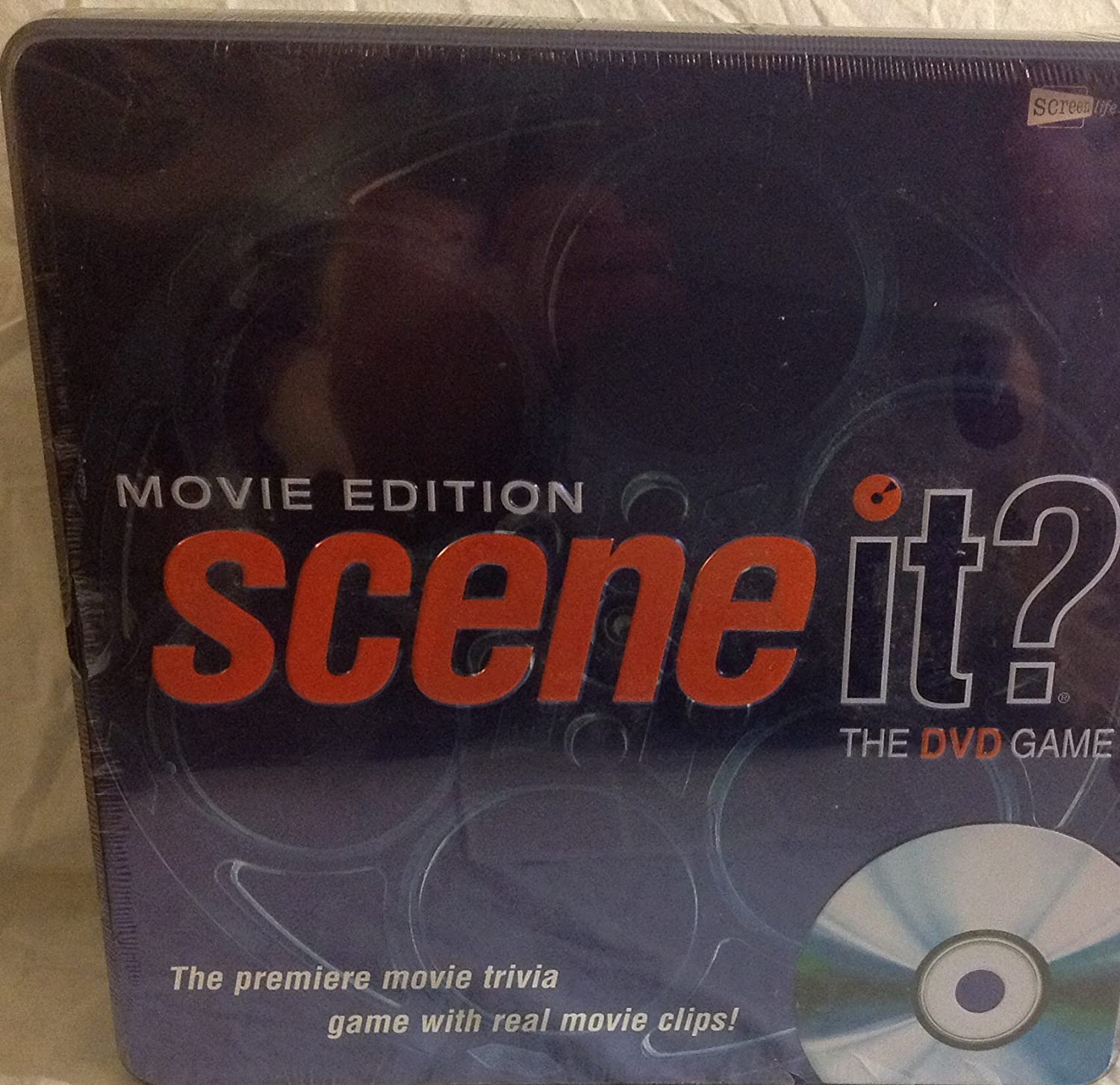 Movie Edition Scene It? The DVD Game in a Collectible Tin Box by Screenlife