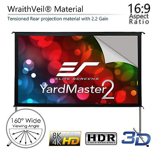 Amazon.com: Elite Screens Yardmaster 2 Dual, OMS135H2-Dual ...