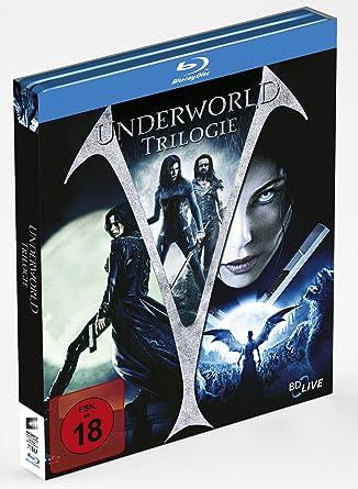 6a500c26c Underworld - Trilogie (Limited Steelbook, exklusiv bei Amazon.de) [Blu-