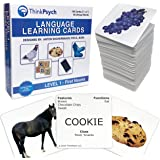 THINKPSYCH Flash Cards for Toddlers 2-4 Years Old. 150 Educational Flashcards: Animals Food & Household. Baby & Toddler Appro