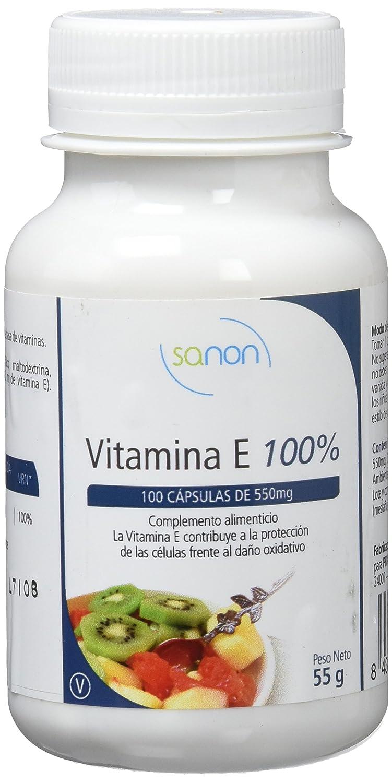 Sanon Vitamina E - 3 Paquetes de 100 Cápsulas: Amazon.es: Salud y cuidado personal