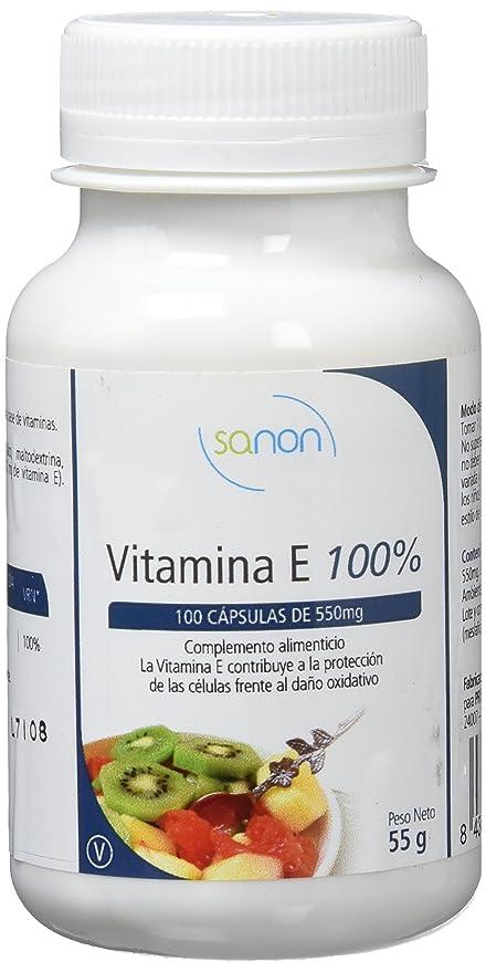 Sanon Vitamina E - 3 Paquetes de 100 Cápsulas