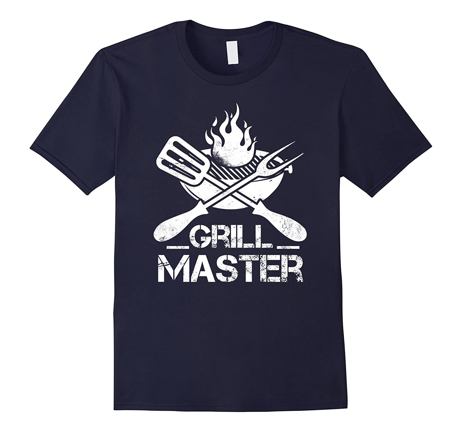 Grill Master BBQ Grilling Hobby Father's Day T-Shirt-Yolotee