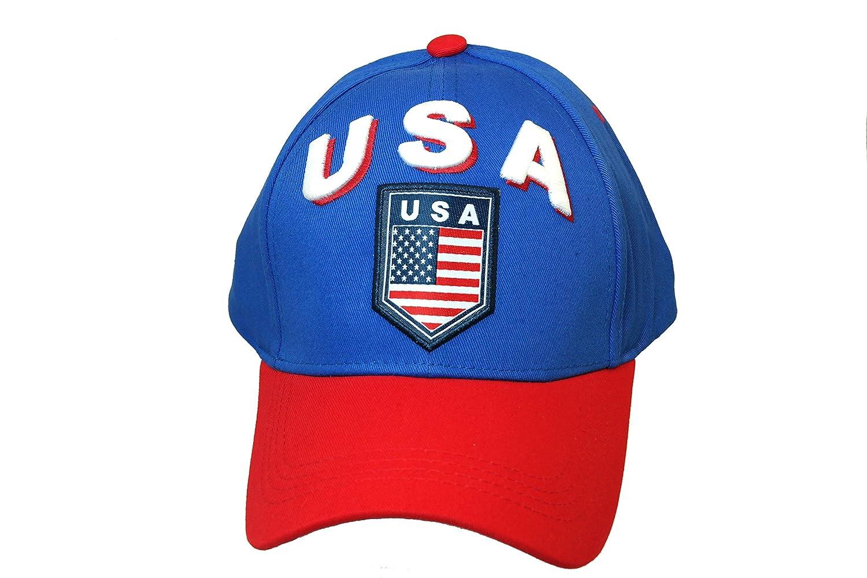 チームUSA Authenticサッカーチーム公式ライセンスサッカーキャップOne size-002   B01137DR8A